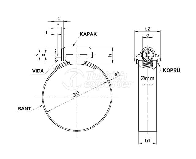 D Type Clamp