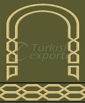 Prayer Rugs 8037 Green