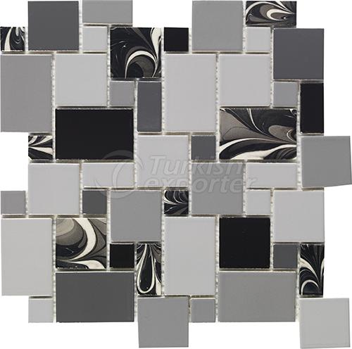 Porcelain mosaic tile Pattern