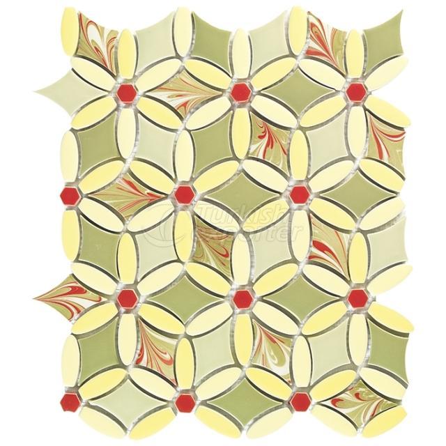 Porcelain Mosaic TileFL.G.110.15.16