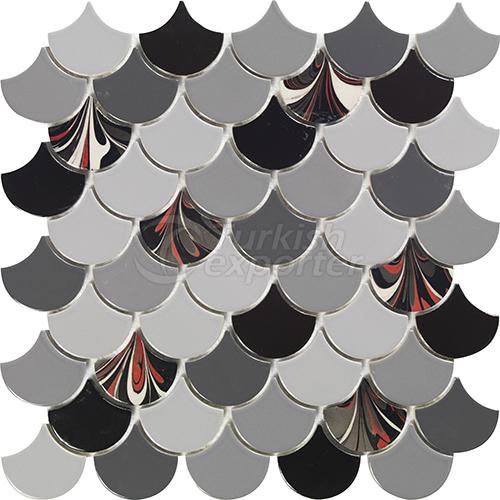 Porcelain mosaic tile Drop