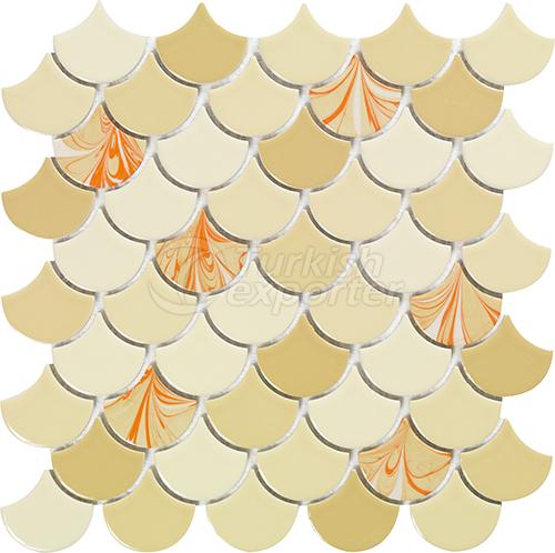 Porcelain mosaic tile Drop 4