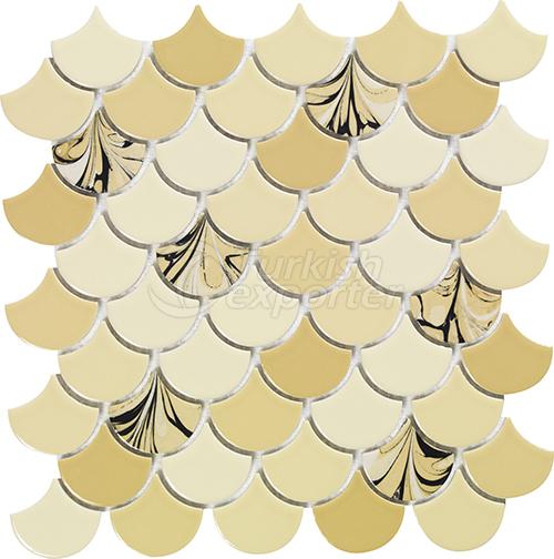 Porcelain mosaic tile Drop 1