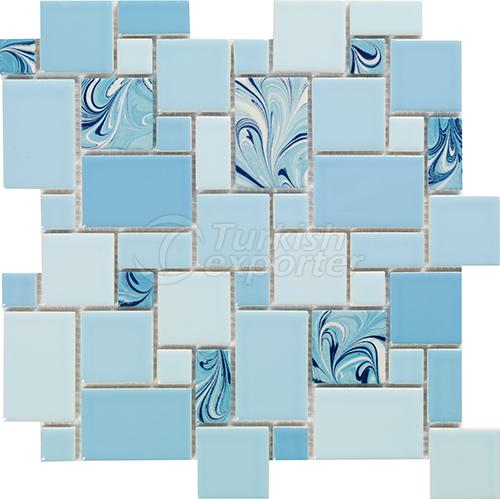 Porcelain mosaic tile 1