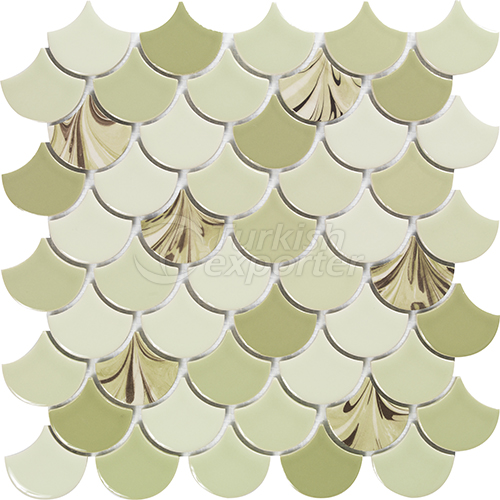 Porcelain mosaic tile Drop 2
