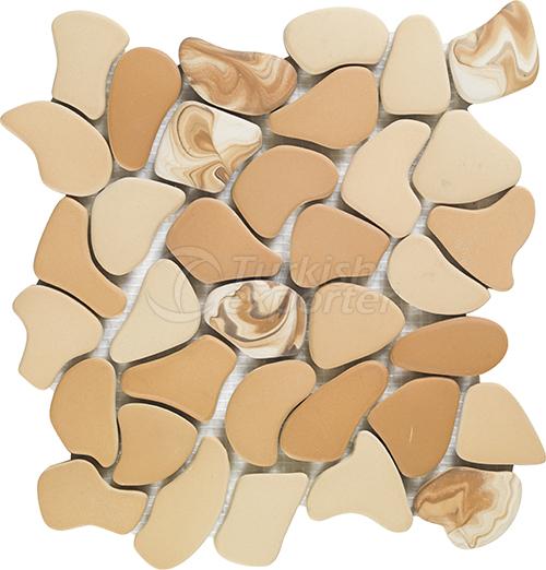Porcelain mosaic tile Puzzle