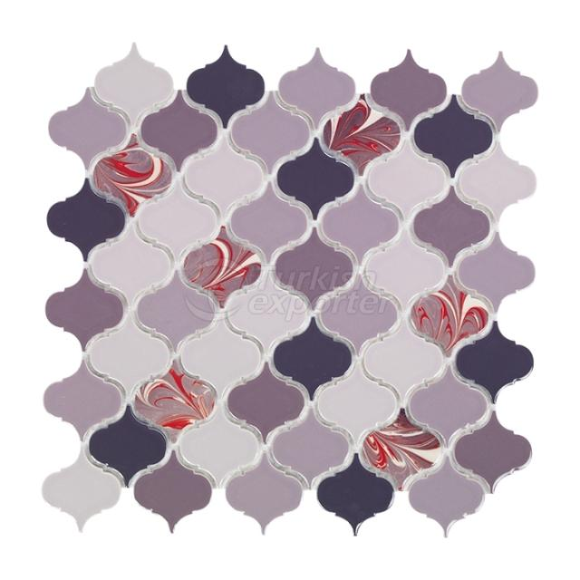 Porcelain Mosaic Tile AR.G.80.10.12