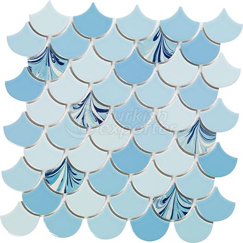Porcelain mosaic tile Drop 5