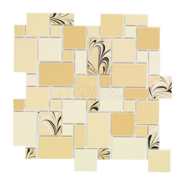 Porcelain Mosaic Tile PT.G.40.10.8