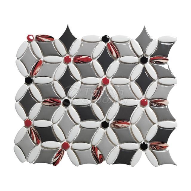 Porcelain Mosaic Tile FL.G.00.18.15