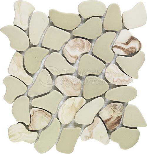 Porcelain mosaic tile PUZZLE S-M-XL