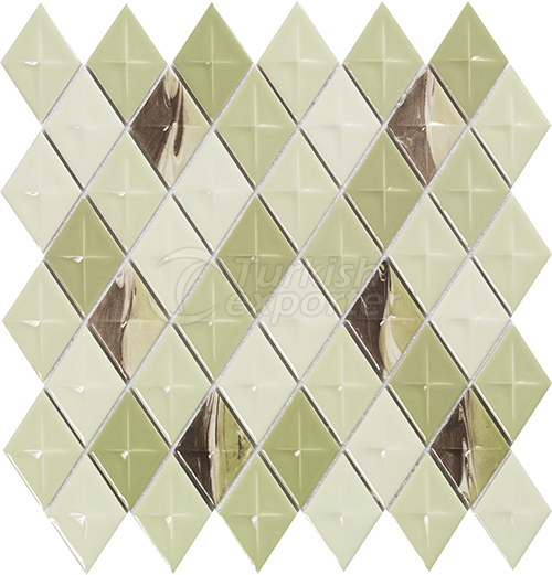 Porcelain mosaic tile Diamond 1