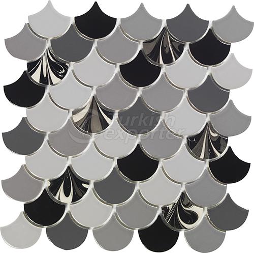 Porcelain mosaic tile Drop 3