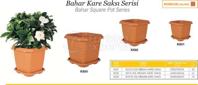 Bahar Square Pot