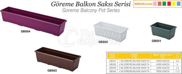 Goreme Balcony Pot