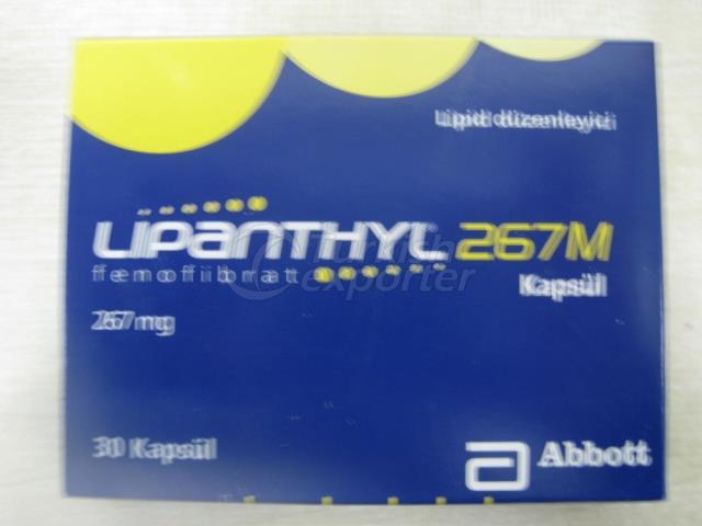 Lipanthyl 267m