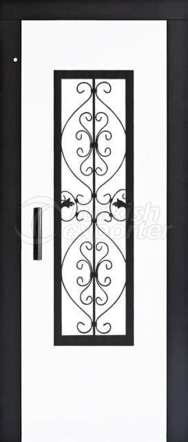 Elevator Semi Automatic Doors