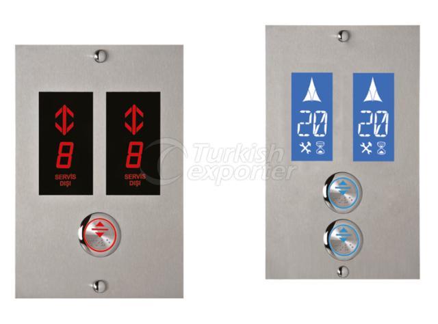 Dublex Elevator Floor Button