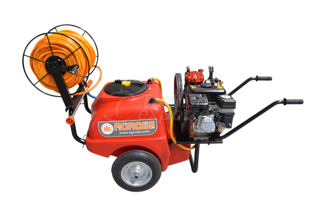 Elect./Gasoline Sprayer 100 lt