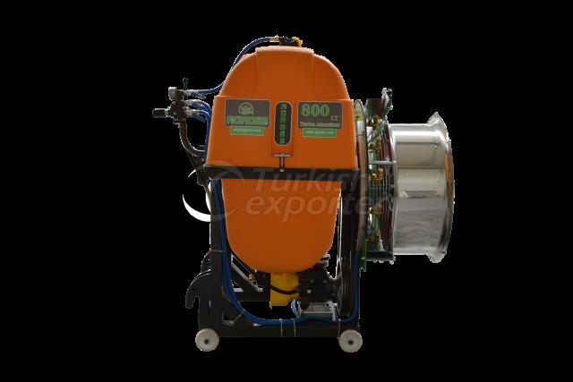 Mounted Turbo Atomizer 800 lt 75 Cm