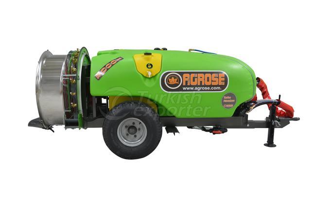 Trailed Type Turbo Atomizer 1000 lt