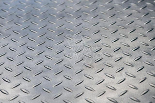 Tear Drop Pattern Sheet Metal