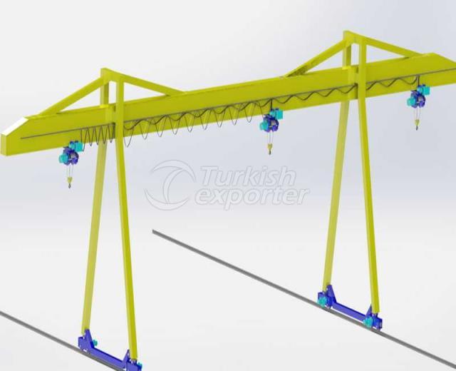 Single Beam Gantry Crane