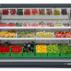 royal-vegetable refrigerated showcase