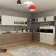 MODERN DESIGNED KITCHEN CABINETS - CUPBOARDS