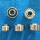 High speed covering machine spindle bearings
