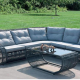 Viet Nam Lounge Comfortable Sectional Sofa Sets For Lobby With Outdoor Furniture