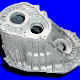 Aluminium pressure die-casting, for example a gear box.