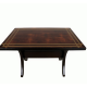 Wooden rectangular table