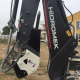 Backhoe Loader Hydraulic Hammer