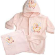 BABY HOODED TOWELS AND BATHROBES