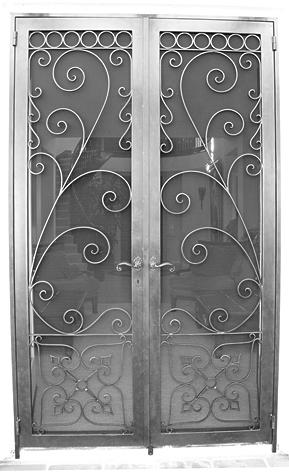 декоративные решетки на входные двери